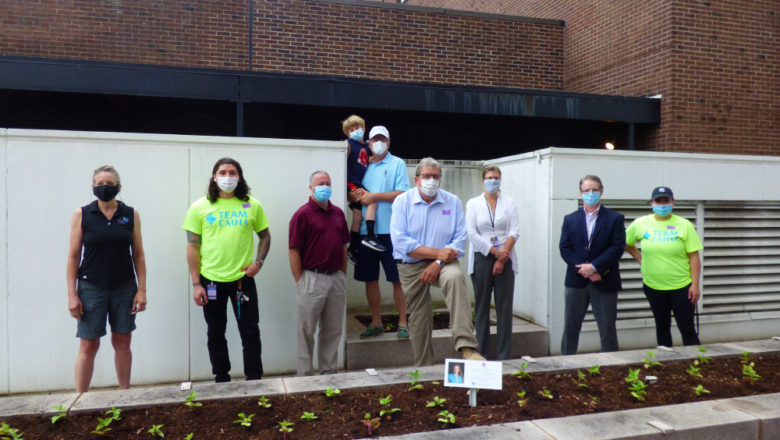 New 'Michaela's Garden' planted outside CMHA headquarters in New Britain